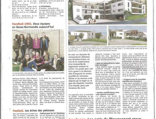 ARTICLE LE TELEGRAMME 5 AVRIL 2017