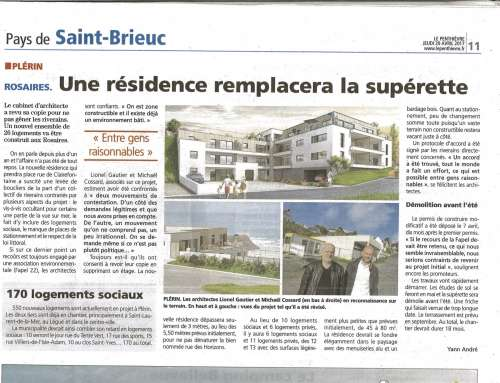 ARTICLE LE PENTHIEVRE 20 AVRIL 2017